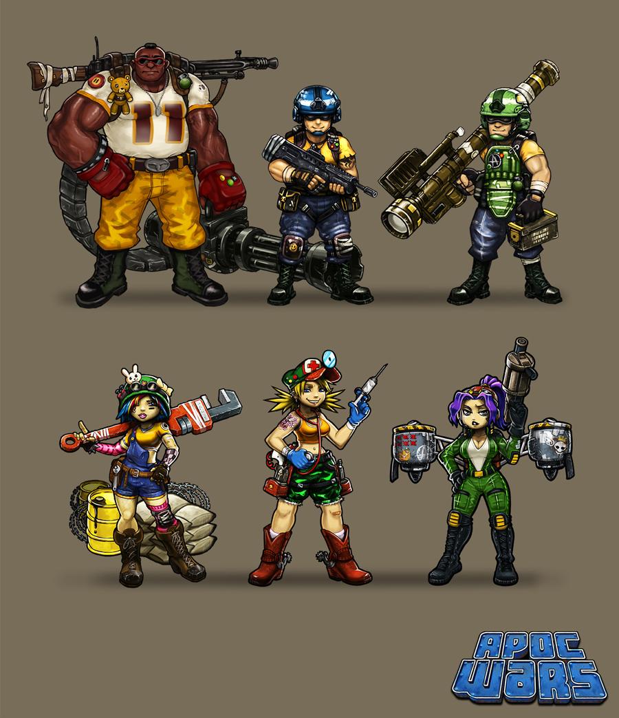 Apoc Wars Characters