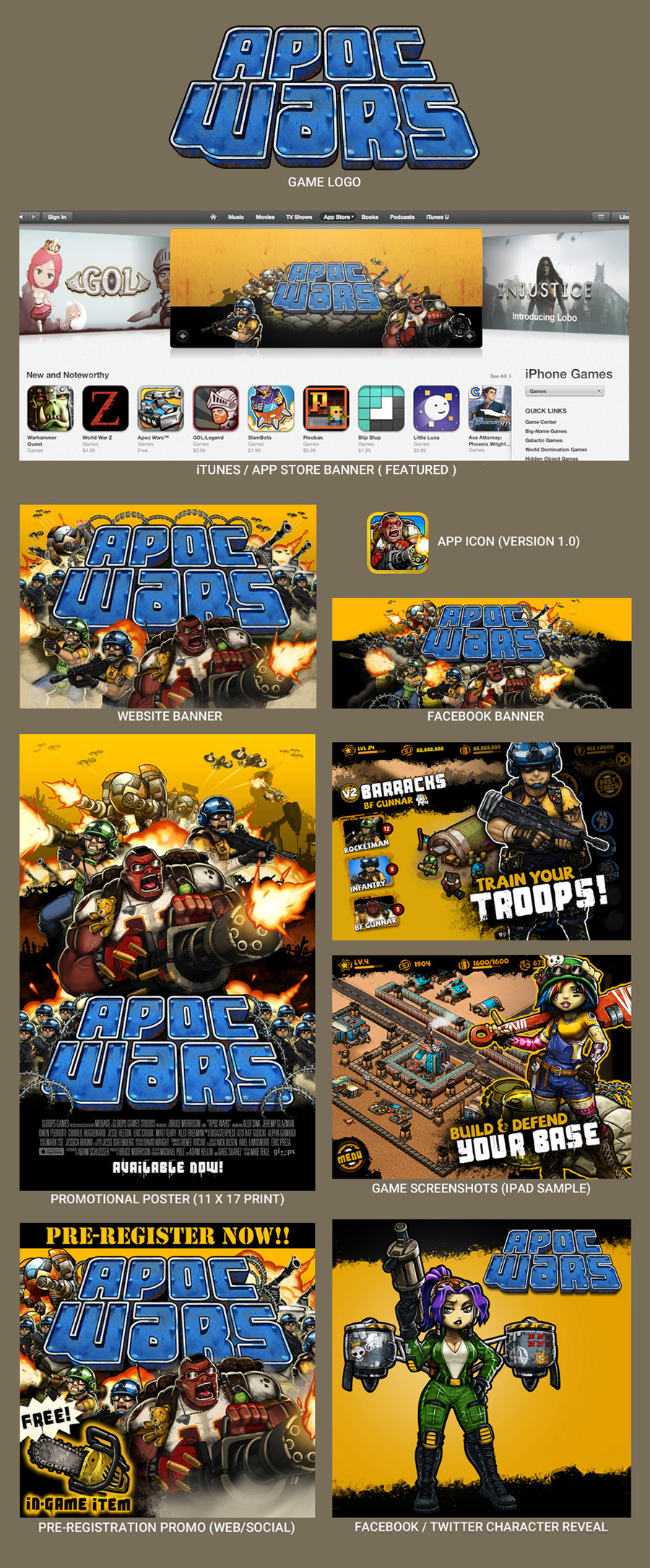 Apoc Wars Marketing