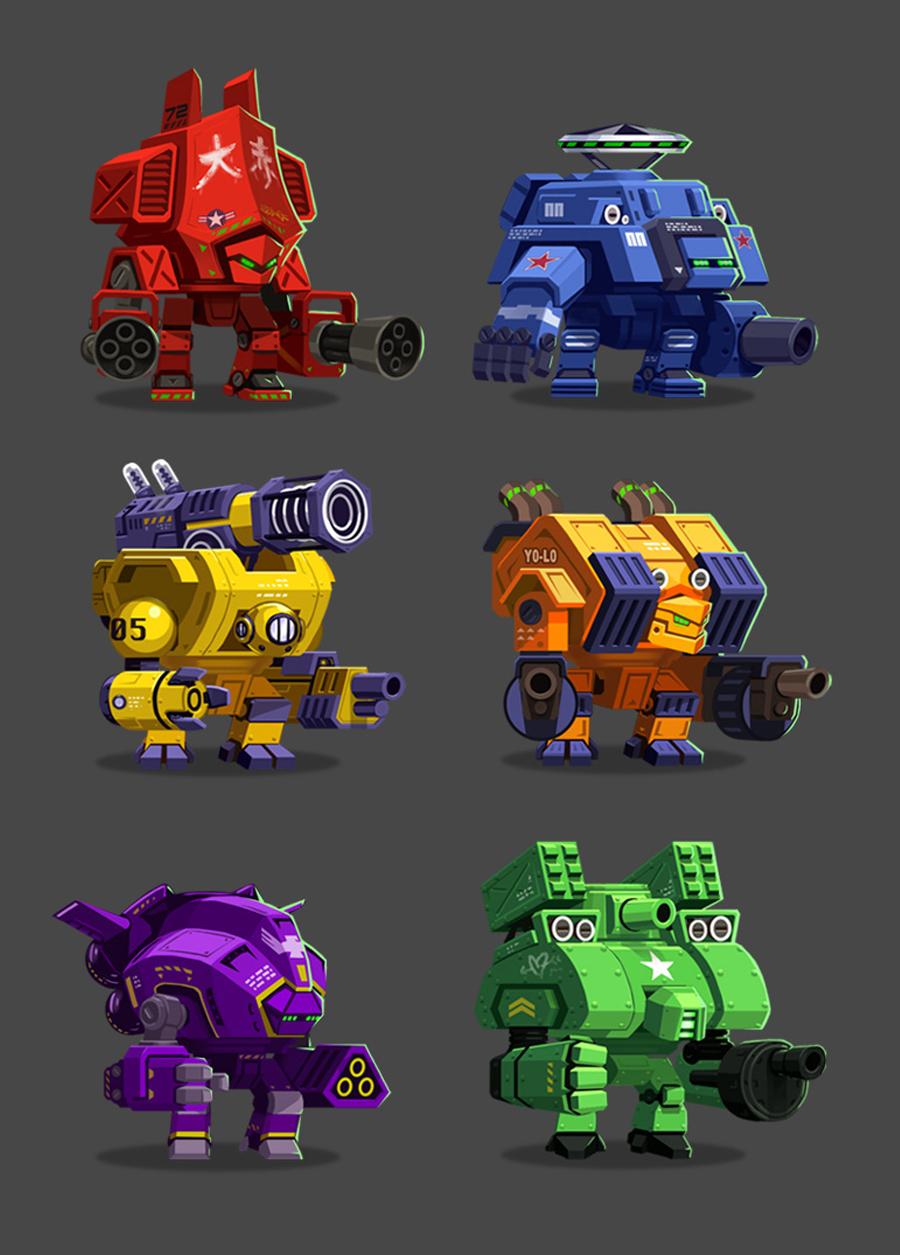 MechaNauts Robots